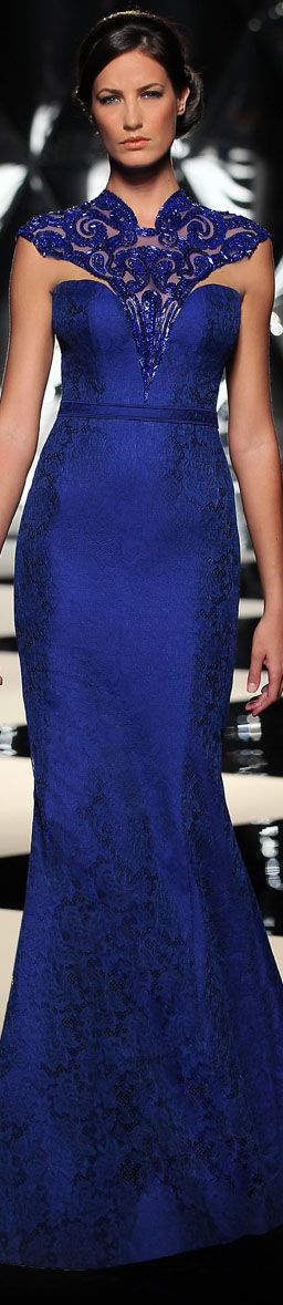 The Mireille Dagher Fall-Winter 2013-14 Haute Couture Collection #dress <3