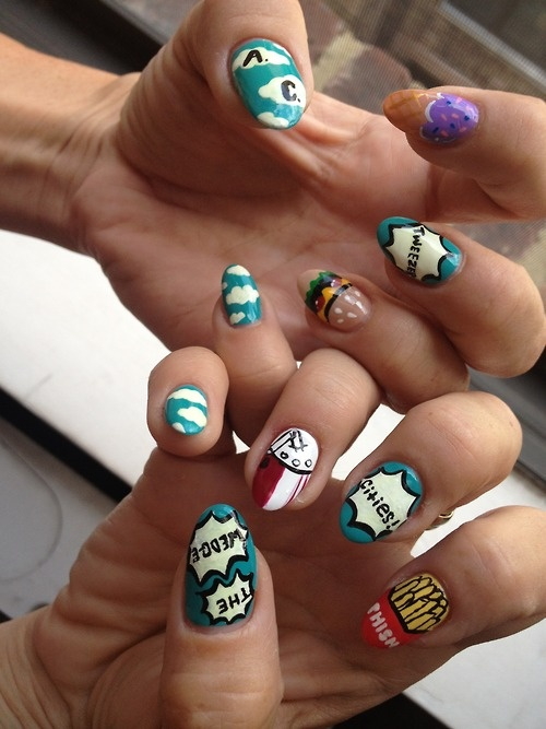 Phish Summer Tour, Atlantic City nails by Fleury Rose. Have fun Y'all!