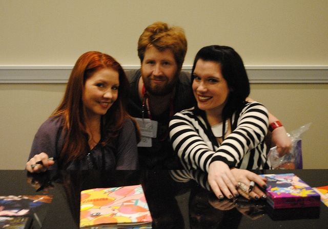 Me, Jamie Marchi, & Monica Rial