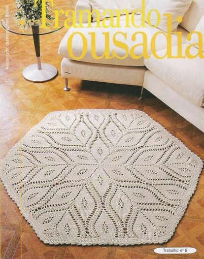 rug crochet pattern: | make handmade, crochet, craft