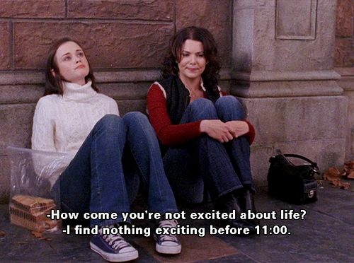 love gilmore girls :)