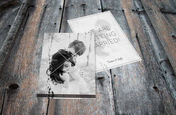 Wedding Save The Date Invitation Invite Bali Indonesia Love www.vivianyeung.com | Photo credit: www.evermotionphoto.com