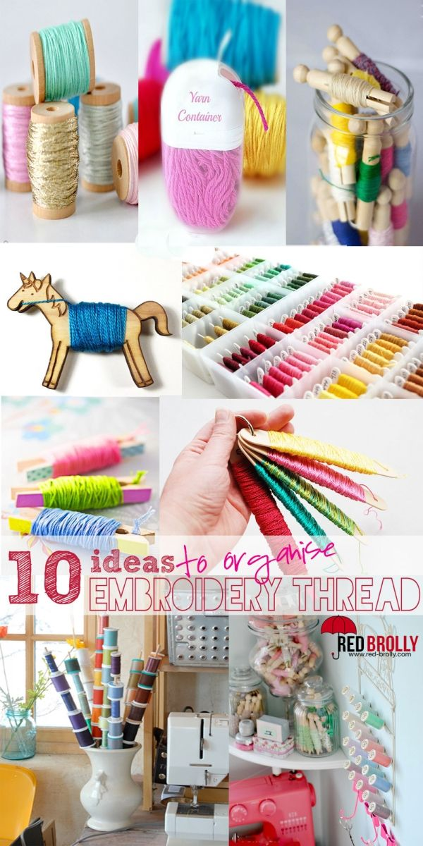 We don't know about you, but how frustrating does it get when your embroidery thread gets all tangled and knotted, you loose the colour number and they all get mixed in together? It can be very annoying (not to mention time consuming) trying to sort out your thread strands so you can begin stitching. Since …