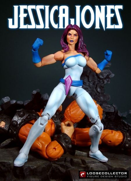 Jessica Jones AKA Jewel (Marvel Legends) Custom Action Figure