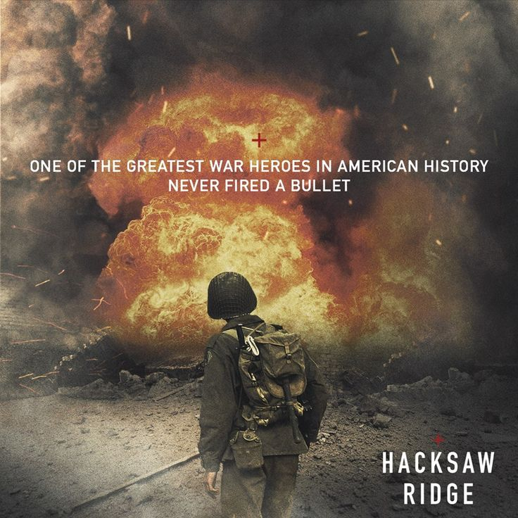 #HacksawRidge comes to theaters November 4
