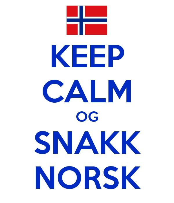 Keep Calm og Snakk Norsk