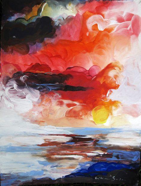 Liliana Soja, The Great Gig In The Sky4 on ArtStack #liliana-soja #art