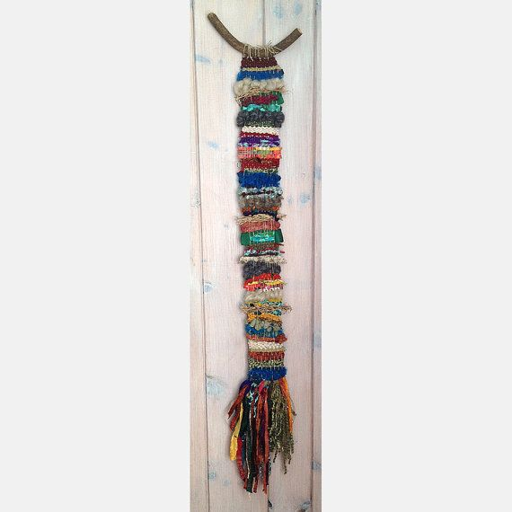 17 best images about wall hangings by fishwarp on pinterest macrame wall hangings and weaving. Black Bedroom Furniture Sets. Home Design Ideas