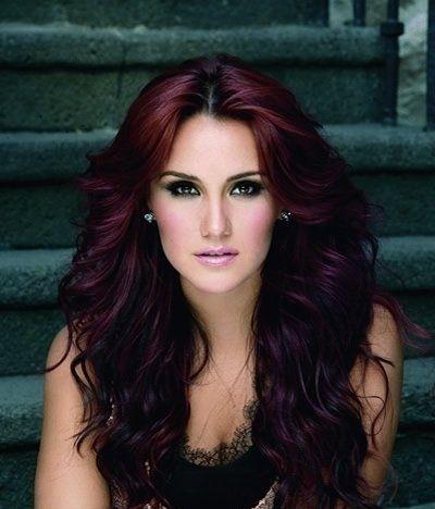 Dark Red Hair ... I wish I had the guts!