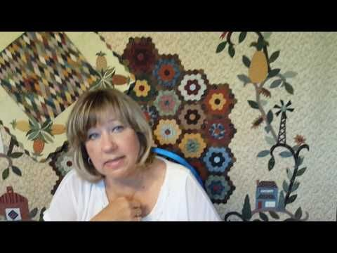 Learn a new way to baste English Paper Piecing! If you struggle with basting, this video is for you! Visit www.traditionalprimitives.com for the items seen i...