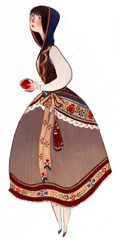 snow white - fairy tale - illustration