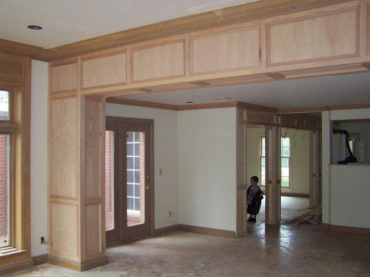1000 images about basement ideas on pinterest basement for Support column ideas
