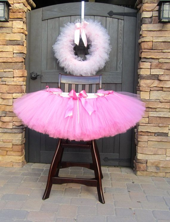 Any Color High Chair Tutu, Tutu High Chair, High Chair Decoration, First Birthday Party, Tutus for Highchairs, Cake Smash