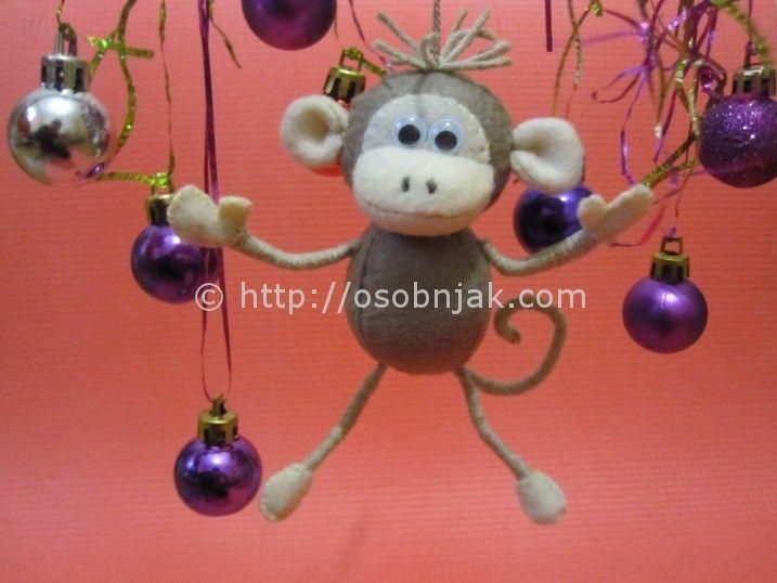 обезьянка 2016 своими руками