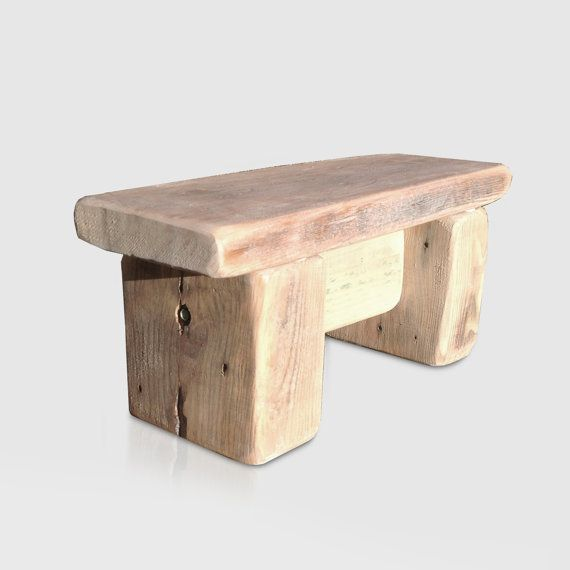 Childs Wooden Step Stool in Recycled Wood. Kids by RatAndPallet