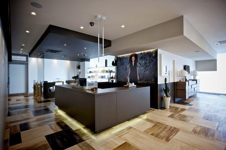 Sedicilab / LIGÈ parrucchieri, tra i 10 saloni più belli del mondo