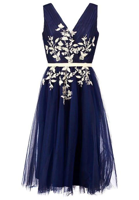 Chi Chi London SAFFIE - Sukienka koktajlowa - navy za 399 zł (28.01.17) zamów bezpłatnie na Zalando.pl.