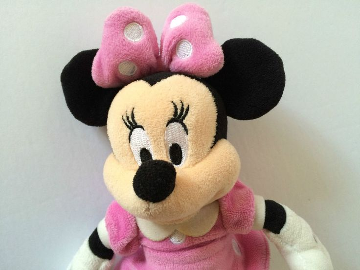Disney Parks Minnie Mouse Pink Plush Doll Toy Bear #Unbranded