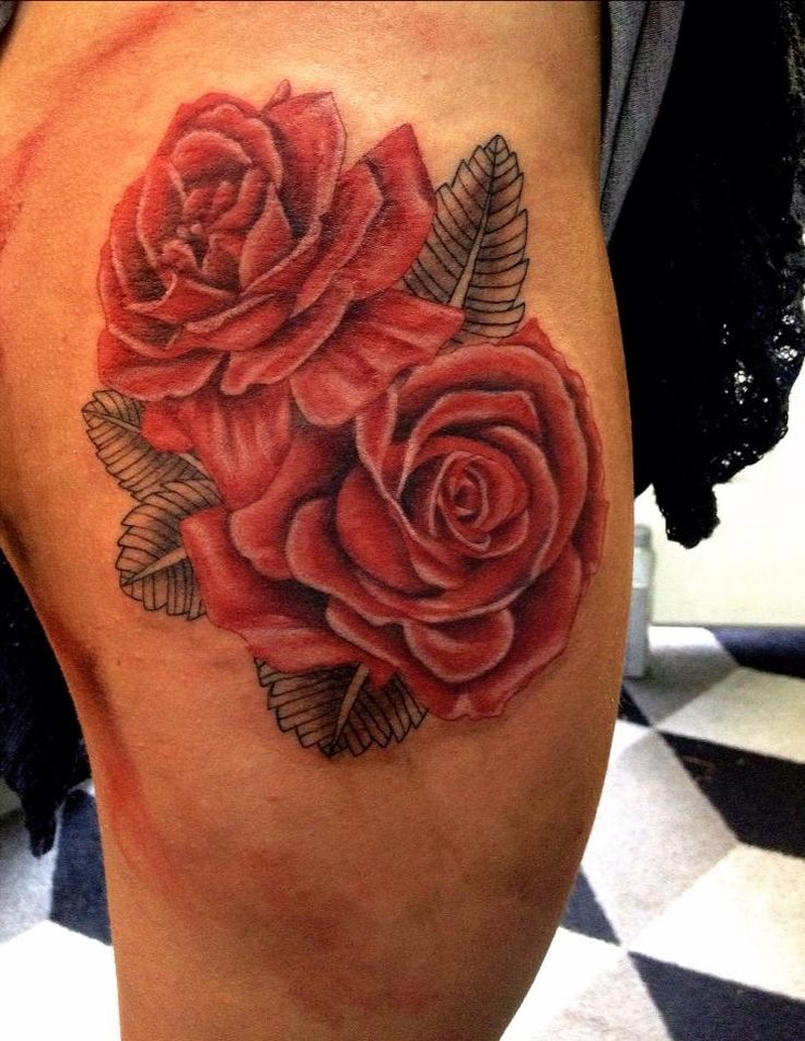Best 20 thigh tattoo designs ideas on pinterest side for Tattoo rose on thigh