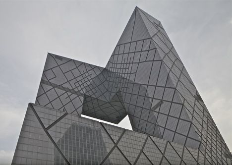 """The China Central Television Headquarters in Beijing by architects OMA are now complete."""