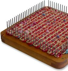 This is a great website for links and projects ideas using handheld looms. >> eLoomaNation :: Big Ideas from Little Looms