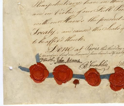 Sept. 3, 1783: America's Revolutionary War officially ended with the signing of the Treaty of Paris.
