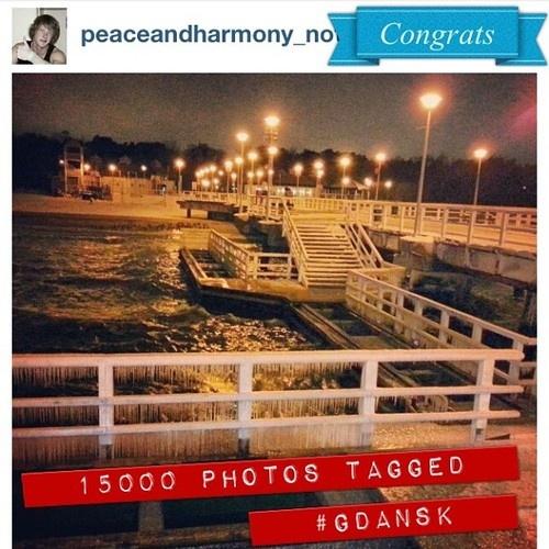 17.01.2013 15000 photos tagged #Gdansk. Congrats to all #igers and @peaceandharmony_not. #igersgdansk #igerspoland  (w miejscu: Molo w Brzeźnie)