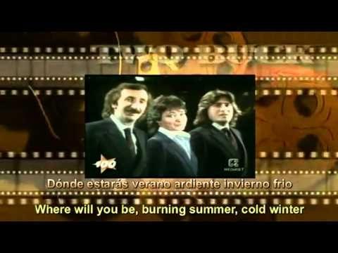 Richi E Poveri Donde Estaras Spanish English Lyrics Youtube Con Imagenes
