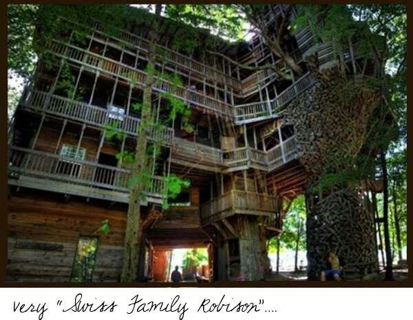 30 best ideas about cool tree houses on pinterest for Cool backyard tree houses