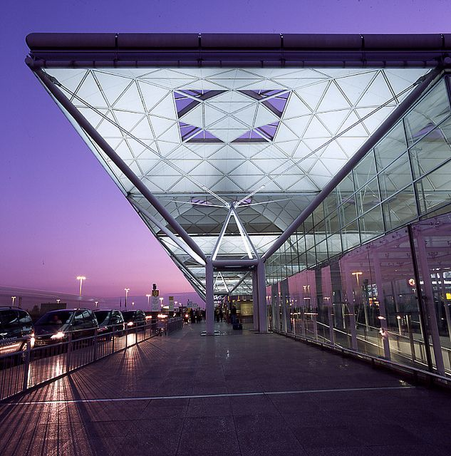 London Stansted Airport.