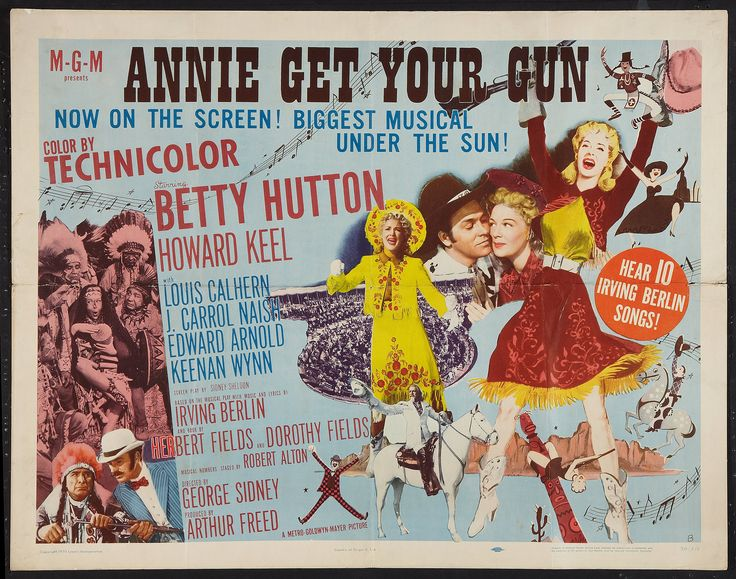 97 best Annie Get Your Gun images on Pinterest | Annie get ...