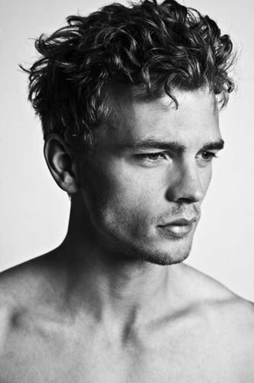 Medium Curly Hairstyle Ideas For Mens With Short Length Hair In 2019