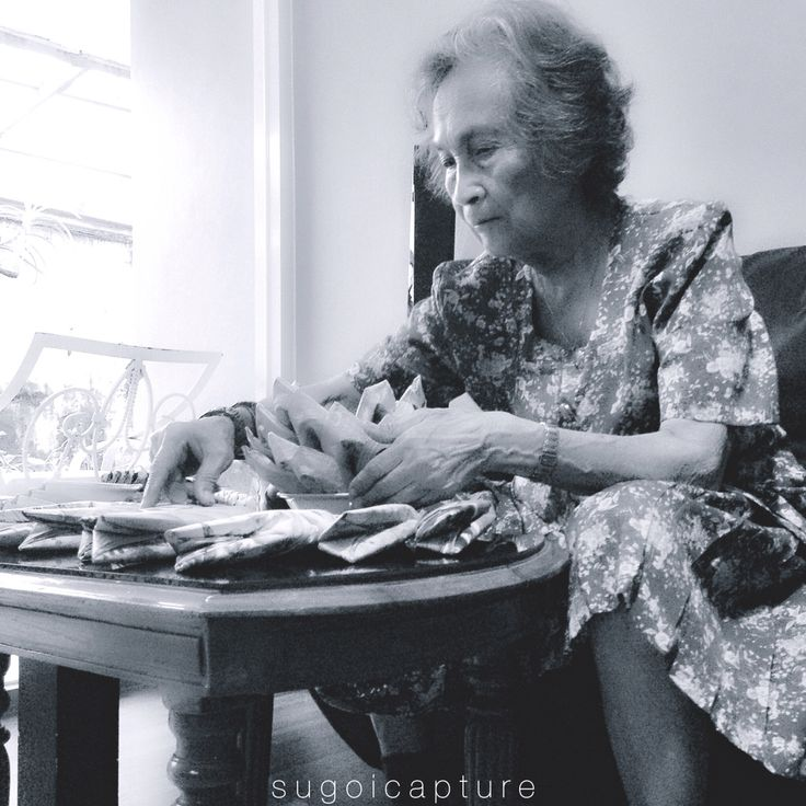 Ik hou van jou, Oma. #bw #photography
