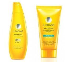 Lakme Sun Expert Fairness UV Lotion SPF 24 PA++ 60 ml & Skin Lightening De-Tan After Sun Face Mask 30gms Rs. 108 – YumeDeals | SaveMoneyIndia