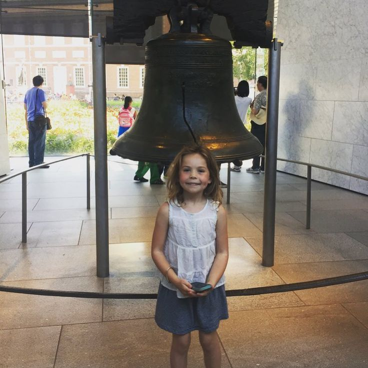 Photo credit @arewethereyetkids. Thanks to @arewethereyetkids for sharing her guest post on her long weekend in Philadelphia with her daughter. Read her post to find out all about the Liberty Bell Independence Hall @pleasetouchmuseum @franklininstitute and more.  #visitphilly #libertybell #travelwithkids #familyadventures #learninghistory #kidstravel #wegowithkids