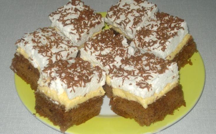 Húsvéti Finom Szelet házi főtt vaníliakrémmel!