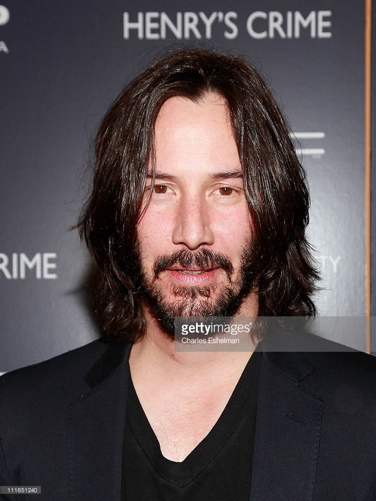 Actor Keanu Reeves attends The Cinema Society with DeLeon Tequila and Moving Pictures Film & Television screening of 'Henry's Crime' at Landmark's Sunshine Cinema on April 4, 2011 in New York City.