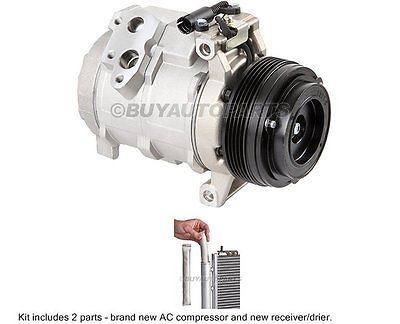 cool New AC Compressor & Clutch + Receiver Drier  Accumulator For BMW X5 - For Sale View more at http://shipperscentral.com/wp/product/new-ac-compressor-clutch-receiver-drier-accumulator-for-bmw-x5-for-sale/