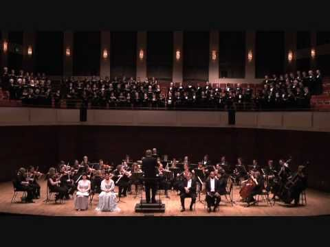 """Mendelssohn's Elijah No. 29 """"He watching over Israel"""""""
