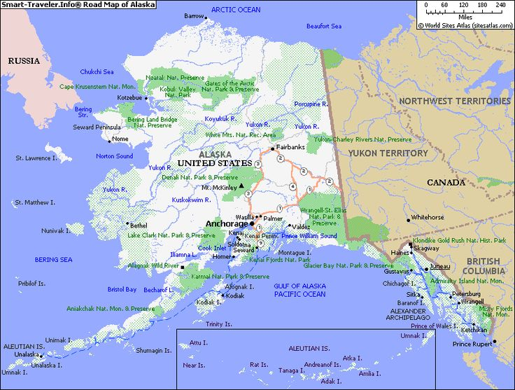 Map Of Alaska MapofAlaska JBs Travels Pinterest - Alaska usa map