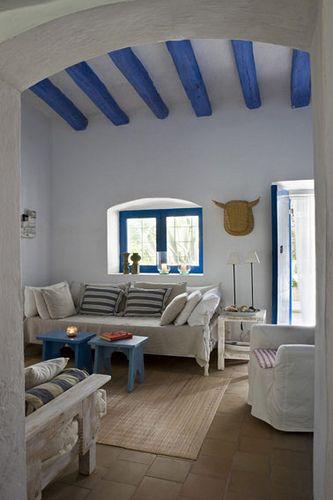 casa-rustica-mediterranea-2 by con M de mujer, via Flickr