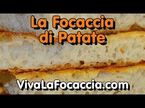 Videoricetta Focaccia (Schiacciata) con Patate