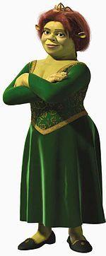Princess Fiona! Gotta love the troll princess!