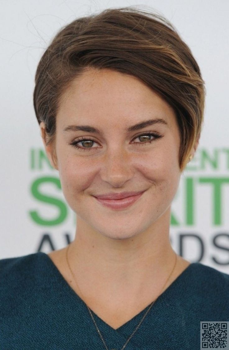 17. #Shailene Woodley's Pixie - The Long and #Short of It - Pixie Cuts ... → Hair #Limited