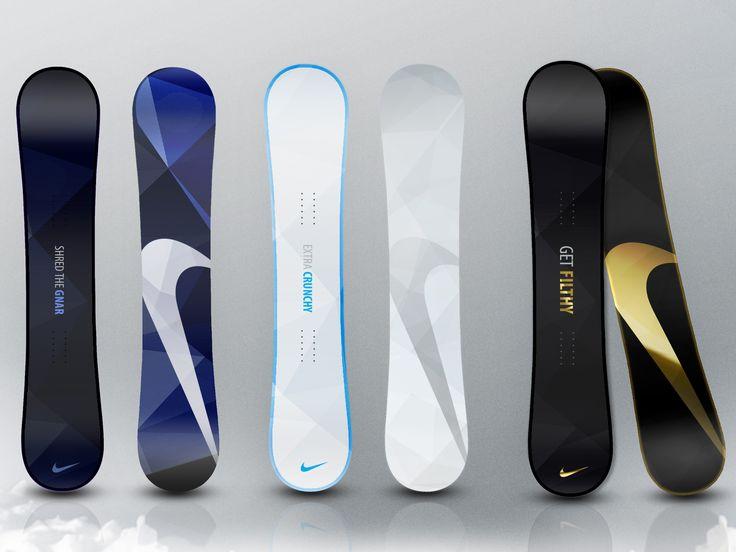 Nike snowboards