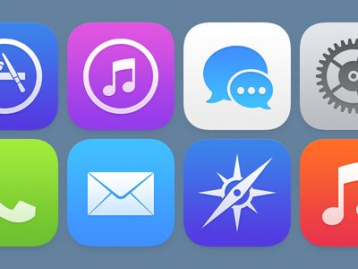 Former Apple Designer Posts Redesign of the Icons in iOS 7