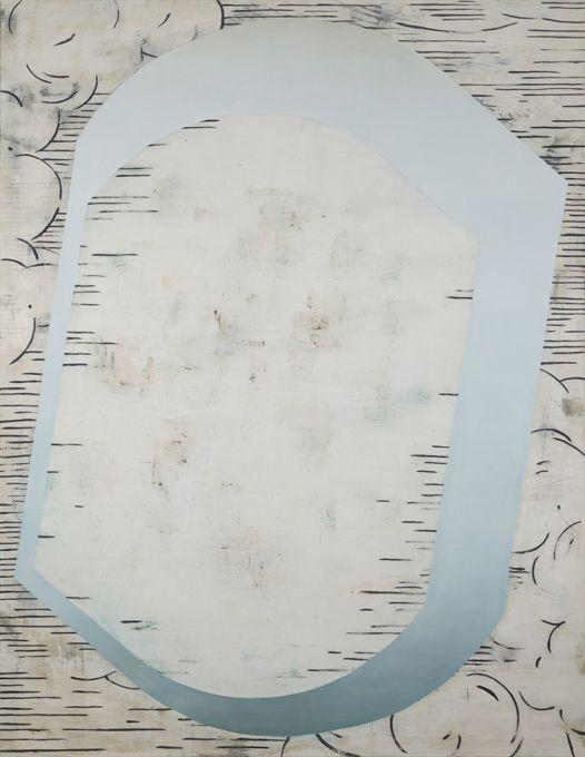 ANNE NEUKAMP-Aire I, 2011, Oil & tempera on canvas, 220x170cm