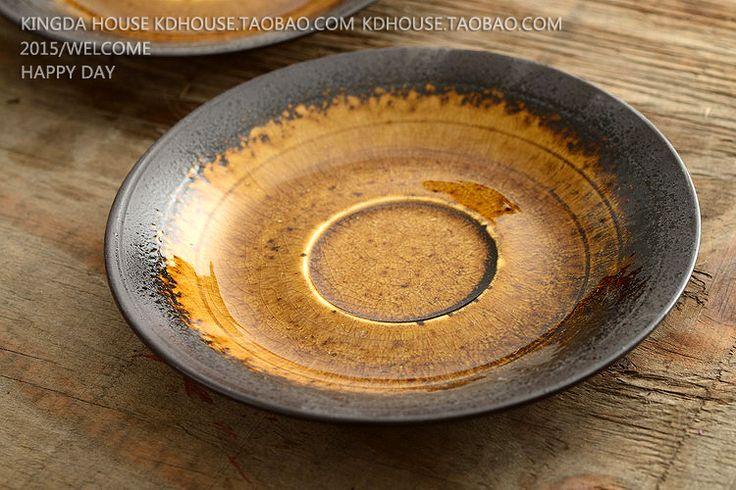 Aliexpress.com: Comprar Tienda de hogar platos occidentales japonés vajilla de gres viento creativo plato de sushi plato postre plato de cerámica de vaca de cerámica fiable proveedores en mengzhen