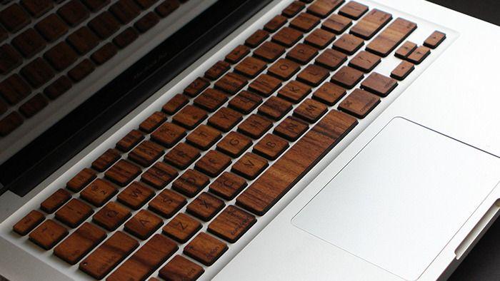 Wooden Keys for Macbook & Desktop by RAWBKNY — Kickstarter
