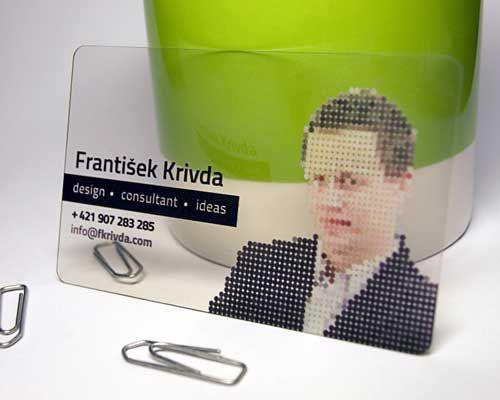 Áttetsző névjegykártyák | www.artcharacter.hu